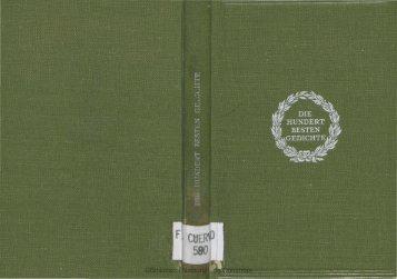 Las Cien mejores Poesfas '(Hricas) de Ia ... - Biblioteca Nacional