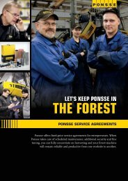 Service agreements ENG In English - Ponsse