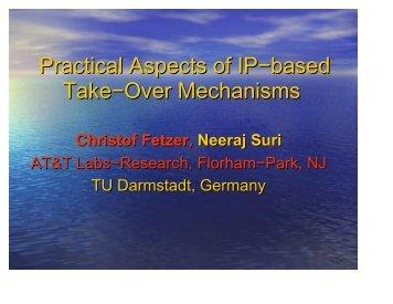 Presentation PDF - Se.inf.tu-dresden.de