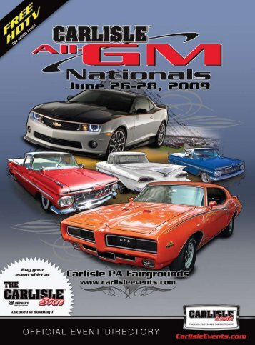 2009 GM Directory - Carlisle Events