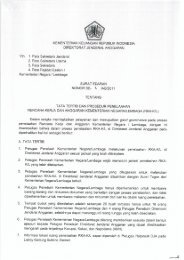 Surat Edaran Dirjen Anggaran Nomor 1/AG Tahun 2011 Tentang ...