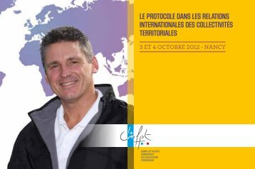 Le protocoLe dans Les reLations internationaLes des coLLectivités ...