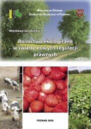 Rolnictwo ekologiczne w świetle nowych uregulowań ... - KSOW