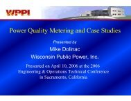 Power Quality Metering and Case Studies