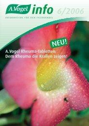 info 6/2006 - Verlag A.Vogel AG
