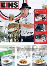 20. August `09 (PDF) - E1NS-Magazin