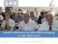 Neue Rechnungslegung F+R - Schweizerische Arbeitsgemeinschaft ...