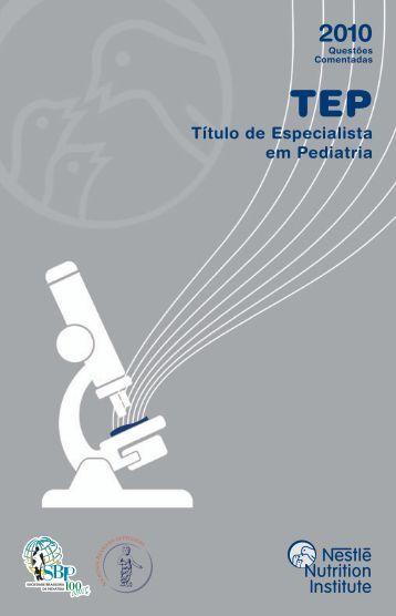 Título de Especialista em Pediatria - Nestlé