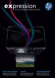 HP News und Highlights Herbst/Winter 2009 - Hewlett Packard