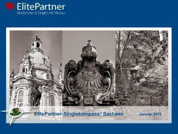 Zum ElitePartner-Singlekompass © Sachsen Januar 2011