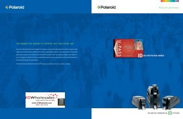 THE BRAND YOU KNOW. ID SYSTEMS YOU CAN ... - ID Wholesaler