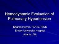 Hemodynamic Evaluation of Pulmonary Hypertension (1.89 MB)