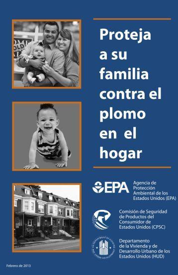 Proteja a su familia contra el plomo en el hogar