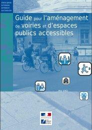 Guide pour l'aménagement de voiries et d'espaces ... - Urbamet