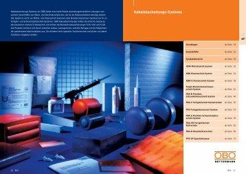 PDF Datei: Broschüre / OBO / Katalog BSS ...