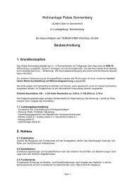 Baubeschreibung - Wahlmann Immobilien