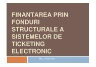 finantarea prin fonduri structurale a sistemelor de ticketing ... - URTP