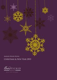 Christmas & New Year 2010 - Hand Picked Hotels