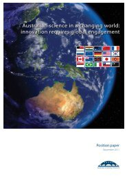 innovation requires global engagement - Australian Academy of ...