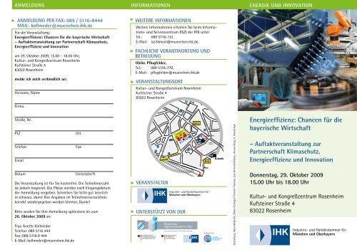 Energieeffizienz Rosenheim - duschl ingenieure