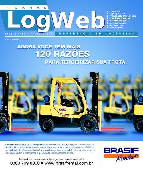Edição 57 download da revista completa - Logweb