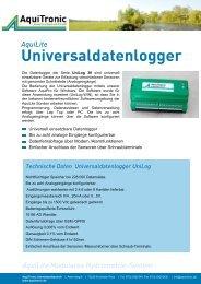 UniLog 09 - Aquitronic