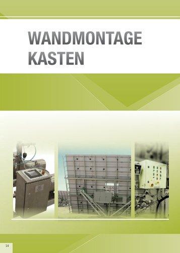 WANDMONTAGE KASTEN - Eldon