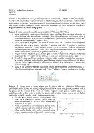 FYSP101 Mekaniikan perusosa 27.4.2012 TENTTI Jan ... - Koppa