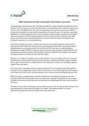 Final Press release - Rreuse