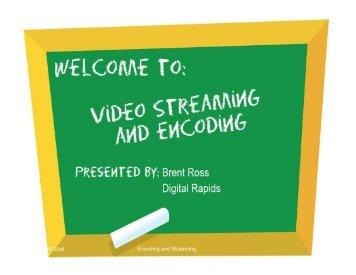 Live Streaming - Incospec Communications Inc.
