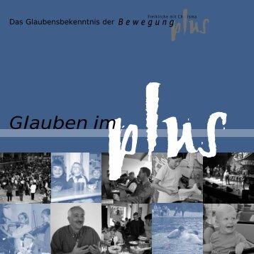 Glauben im Plus - Grundlage PDF - BewegungPlus