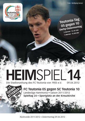 FC Teutonia 05 gegen SC Teutonia 10 - FC Teutonia 05 eV