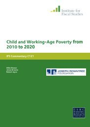 Child and Working-Age Poverty from 2010 to 2020 - The Institute For ...