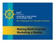 Making Multi-Channel Marketing a Reality