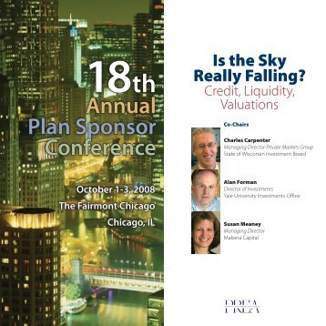 Annual Plan Sponsor Conference - Pension Real Estate Association