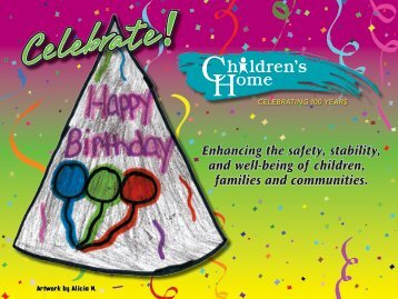 Children's Art Calendar - The Children's Home