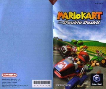 Mario Kart: Double Dash - Nintendo Gamecube - Manual ...