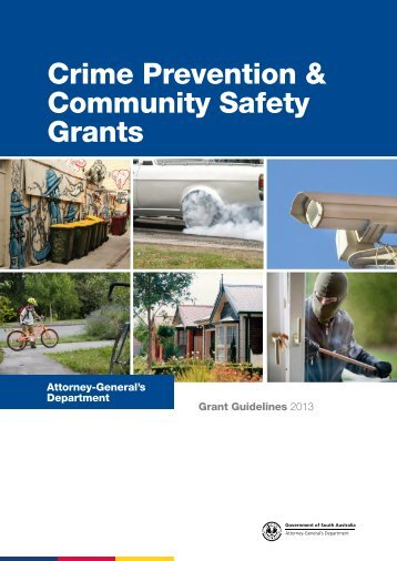 Crime Prevention & Community Safety Grants - Attorney-General's ...