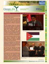 Newsletter - November 2011 - CropLife Africa Middle East