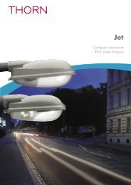 Jet 1&2_INT.indd - THORN Lighting