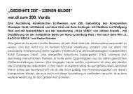 GEDEHNTE ZEIT – SZENEN-BILDER - Fachbereich Medien, Kunst ...