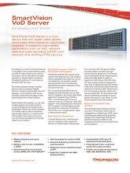 SmartVision VoD Server - Marcom Telecoms Home page
