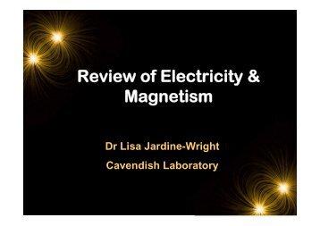 Review Presentation