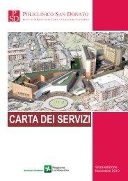 carta dei servizi - Gruppo ospedaliero San Donato