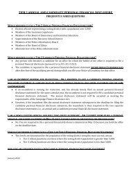 Tier 2 FAQs - Louisiana Ethics Administration Program