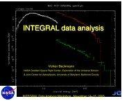 INTEGRAL Software Overview - HEASARC - NASA