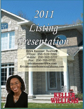 2011 Listing Presentation.pub - Keller Williams Realty