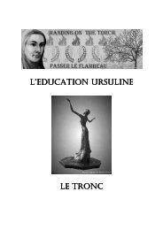 document 2 - Ursulines of the Roman Union