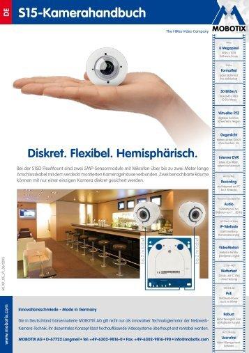 130/144 S15-Kamerahandbuch: Inbetriebnahme der ... - MOBOTIX