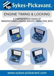 Engine timing & locking - Sykes-Pickavant